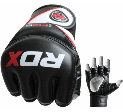 Рукавички RDX MMA Rex Leather Black
